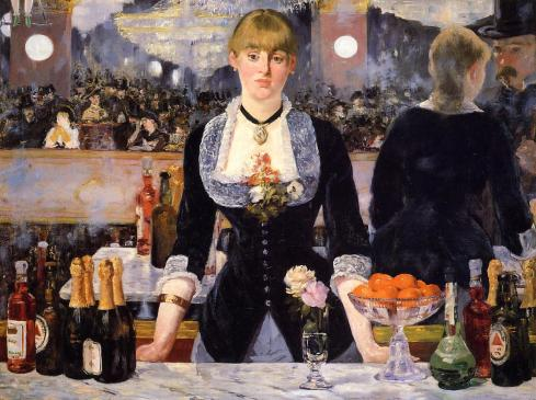 The Bar at the Folies-Bergeres, by Edouard Manet